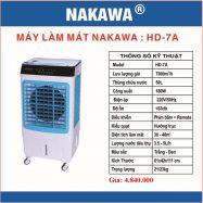 Máy làm mát không khí NAKAWA HD-7A