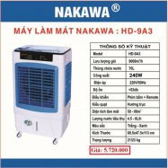 Máy làm mát không khí NAKAWA HD-9A3